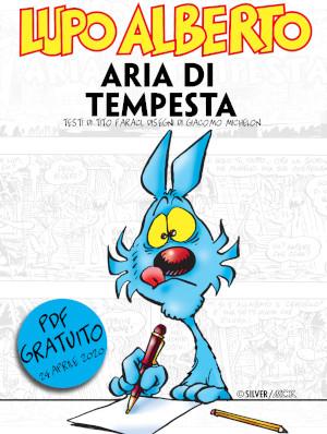 """Copertina del pdf gratuito """"Aria di tempesta"""""""