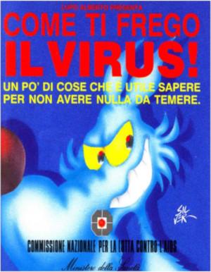 """Copertina del pdf gratuito """"Come ti frego il virus!"""""""