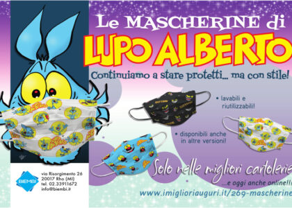 Mascherine di Lupo Alberto