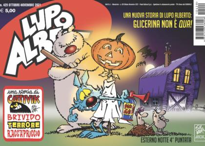 Rivista Lupo Alberto ottobre-novembre 2021 copertina